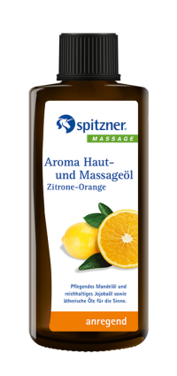 Aroma Haut- und Massageöl Zitrone-Orange