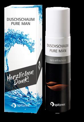 Set Duschschaum Pure Man