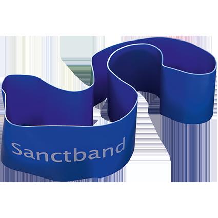 Spitzner Sanctband Loop, Blaubeere
