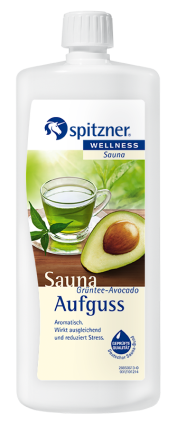 Spitzner Saunaaufguss Grüntee-Avocado