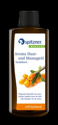 Spitzner Aroma Haut und Massageöl Sanddorn