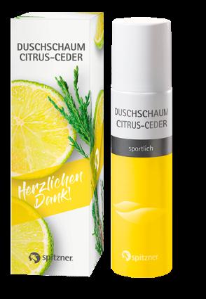 Set Duschschaum Citrus-Ceder