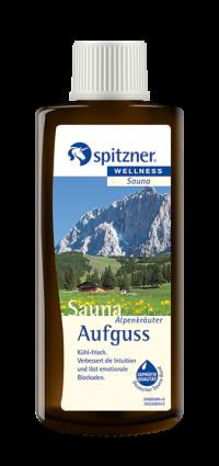 Spitzner Saunaaufguss Alpenkräuter