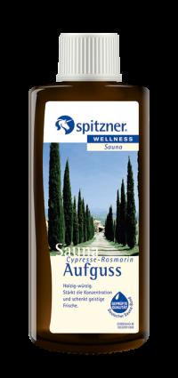 Spitzner Saunaaufguss Cypresse-Rosmarin