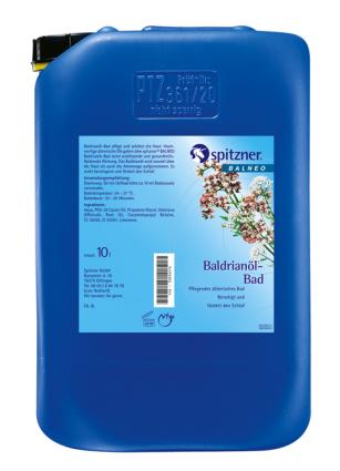 Spitzner Baldrianöl-Bad